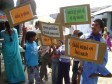Anti-manual scavenging rally in Lakhtar, Gujarat