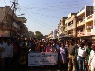 Rally in Rajpipla demanding arrest of accused